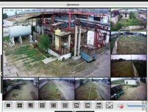 видеонаблюдение на заводе