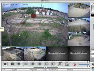 видеонаблюдение на зернохранилище