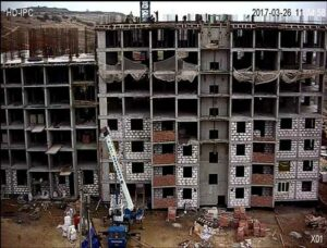 видеонаблюдение на строительстве