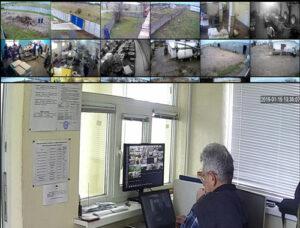 видеонаблюдение на предприятии